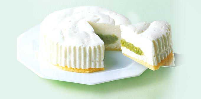 ずんだ白雪チーズケーキ